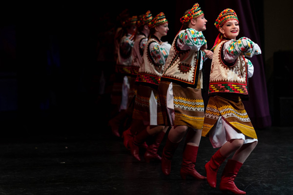 Students at Edmonton School of Ukrainian Dance have an exciting and fun time learning about their heritage.