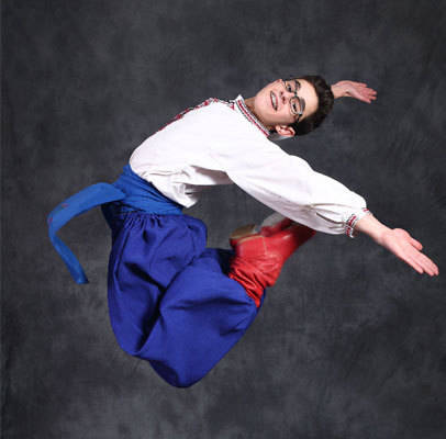 All age ranges are welcomed at Edmonton School of Ukrainian Dance,